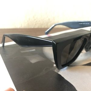 Celine Accessories - Celine edge black sunglasses